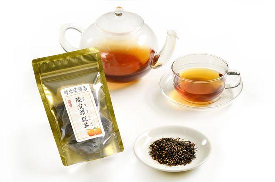 陳皮祁紅茶